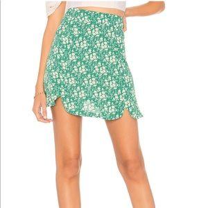 For Love & Lemons 🍋 Zamira Floral Mini-Skirt